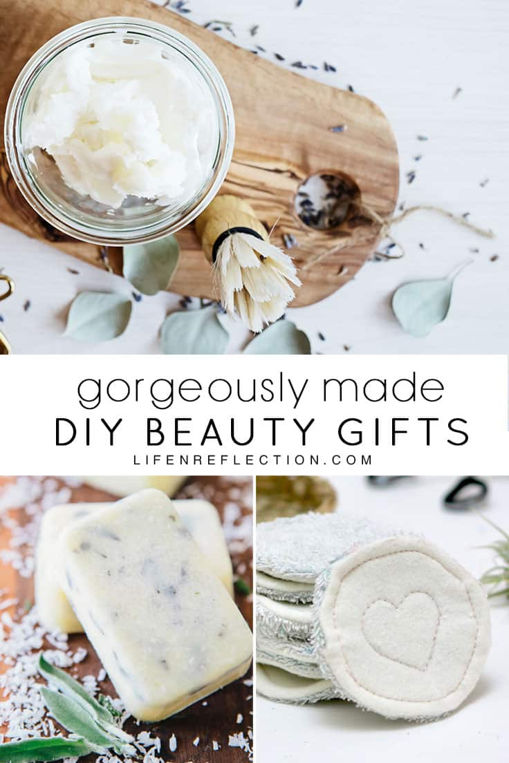 Gorgeously made DIY Beauty Gifts they'll think you bought at the store!