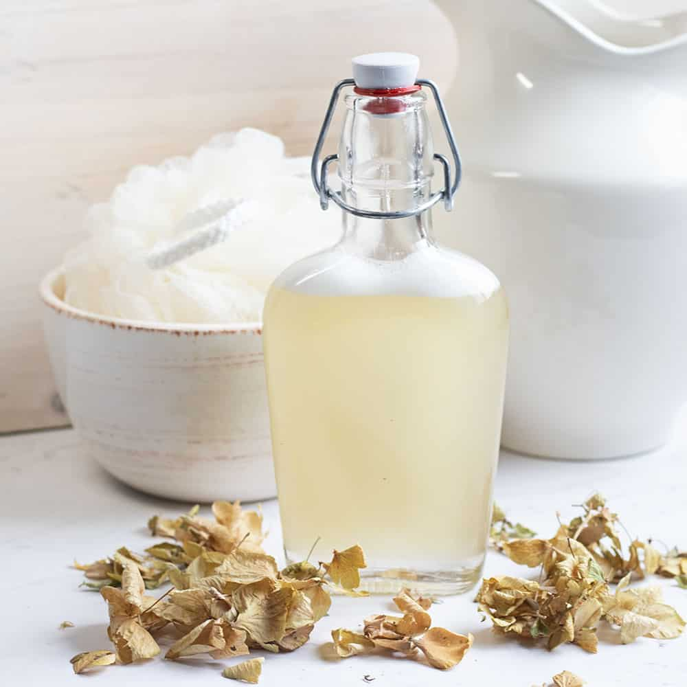 Let lavender and chamomile calm the mind and body with relaxing homemade bubble bath.