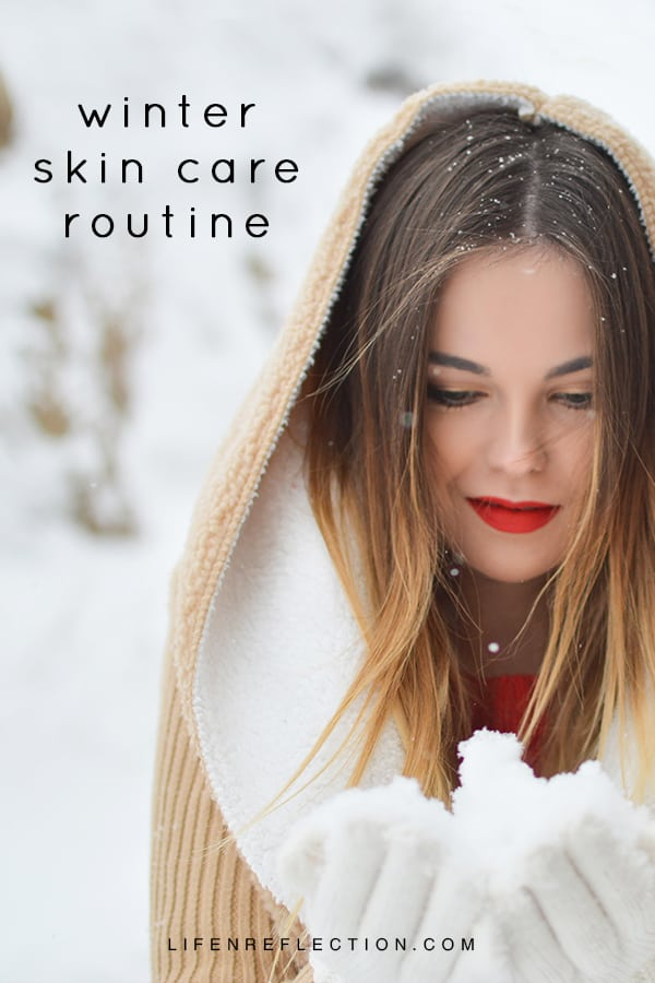 A simple winter skin care routing to keep your skin healthy all year long.