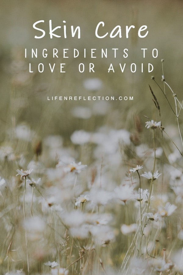 How to read skin care ingredient product labels