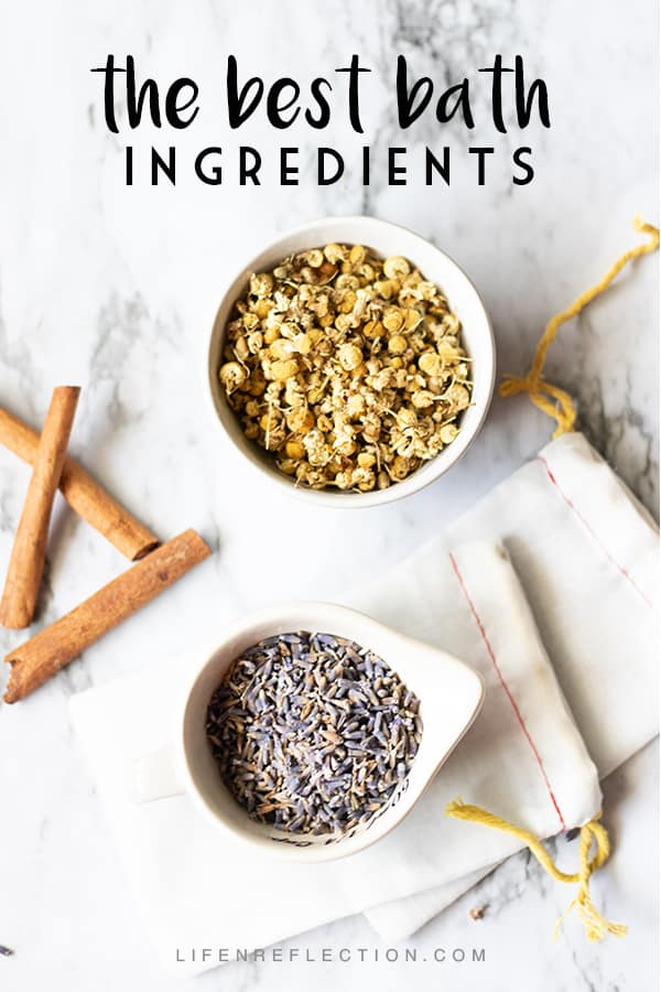 Can you think of anything more relaxing than a warm infused DIY bath soak?