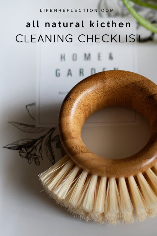 Ditch and Switch with an All Natural Kitchen Cleaning Checklist
