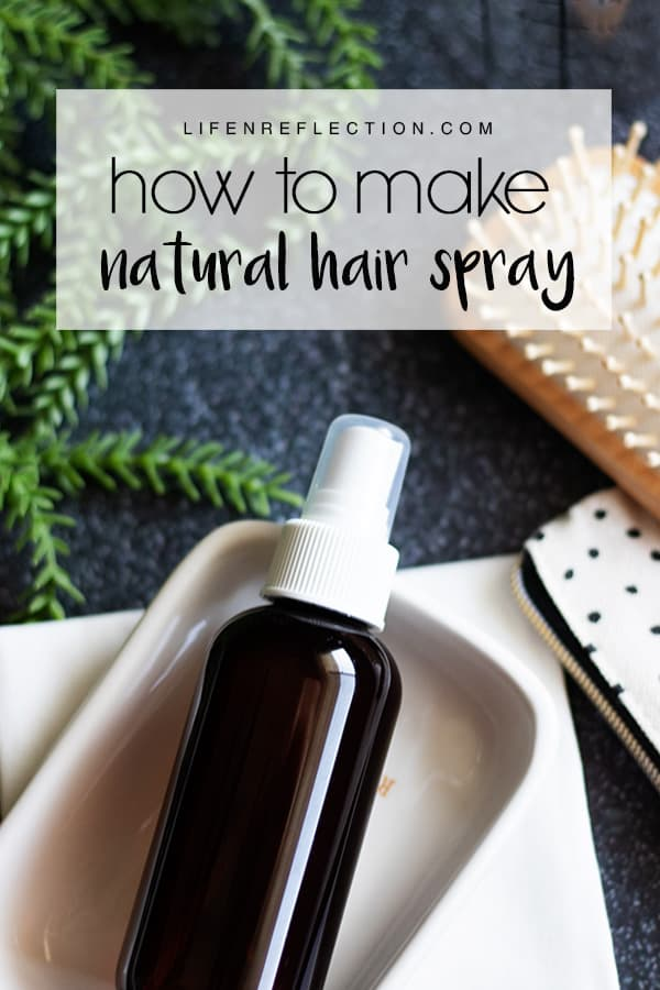 Finding a homemade hair spray recipe that works and doesn't contain alcohol is a challenge. But, one that I successfully met! Turns out making homemade hair spray without alcohol is much easier than I expected.