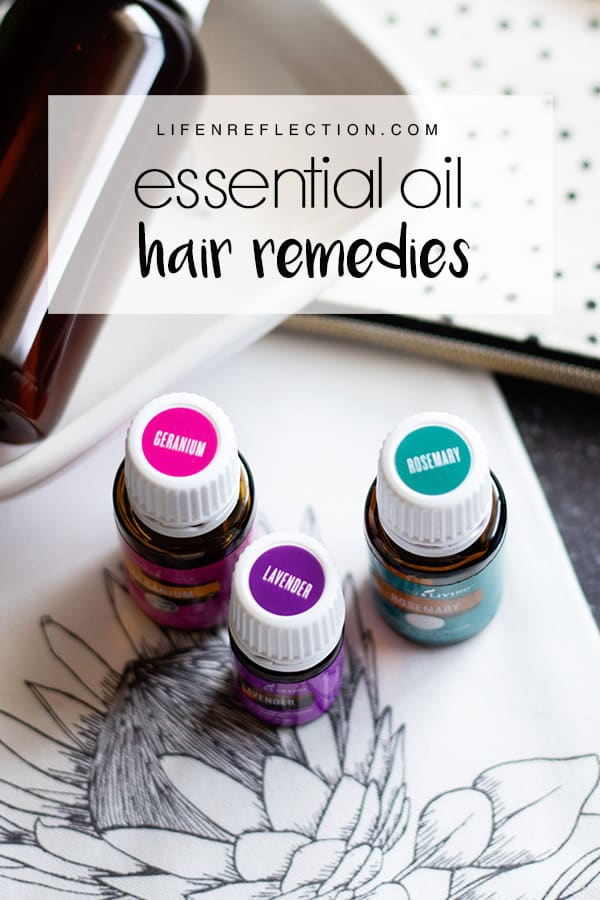 How to make your hair shine with essential oil remedies and natural hair tips!