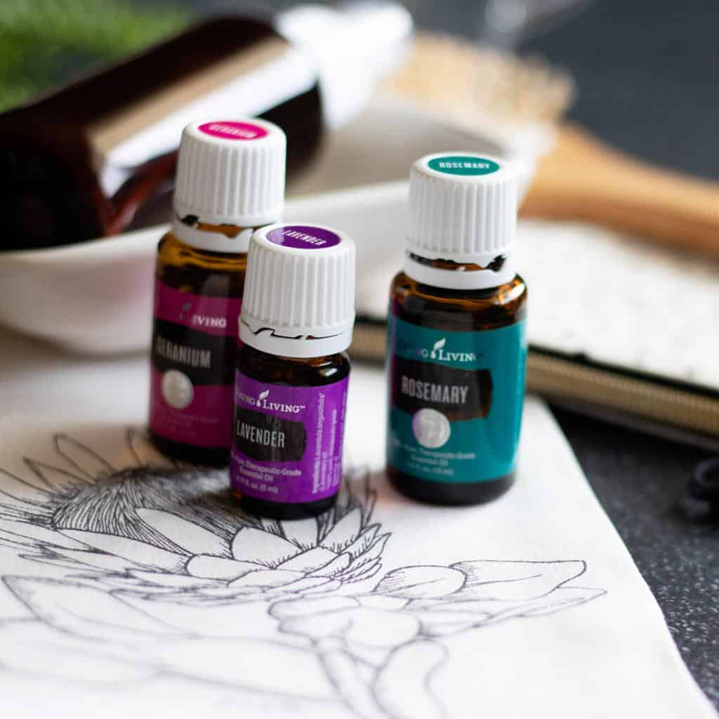 How add essential oils for hair care into your daily routine. Tips for every hair type!