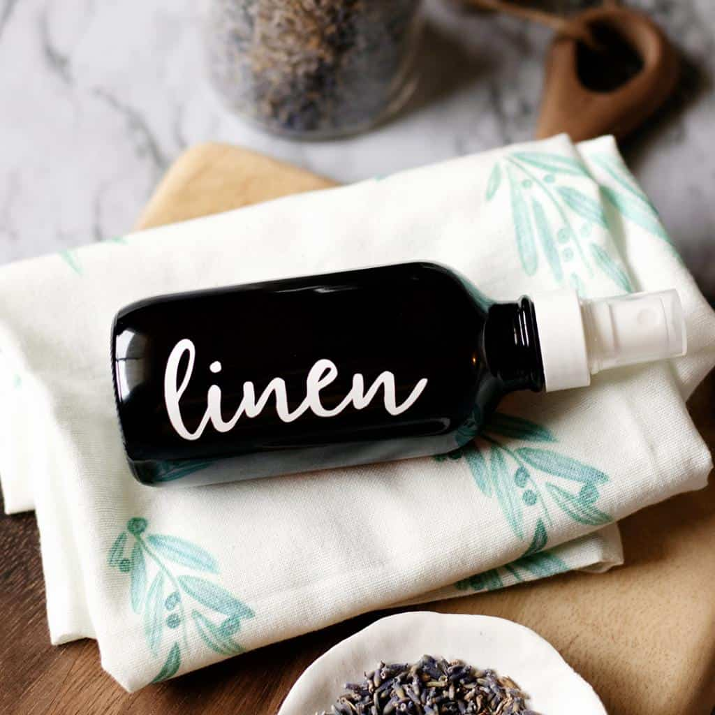 Linen sprays are one the quickest and simplest ways to refresh a space. They can be used in any room of the home and all it takes is a few quick sprays.