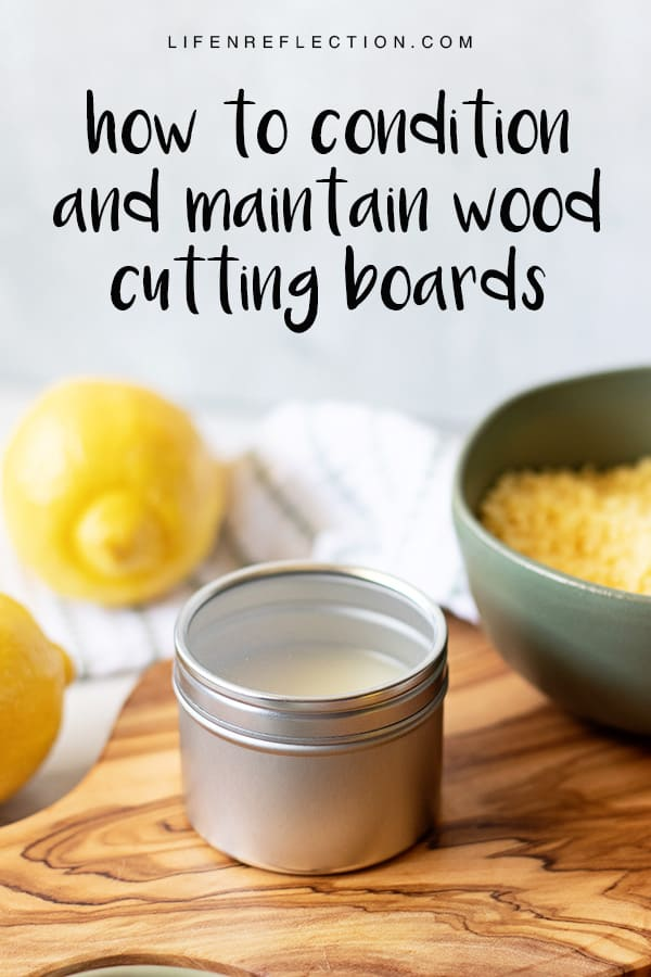 If you have wood surfaces and tools in your kitchen that need a little TLC - treat them well with a homemade spoon butter recipe. Use it with a four step tutorial to condition and main your wood kitchenware in a mere handful of minutes.