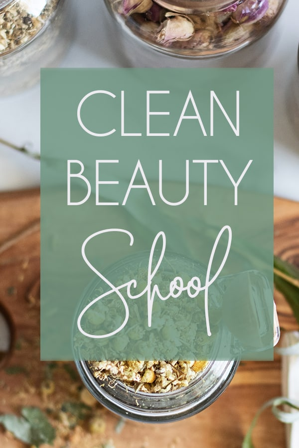 Rather you've been hopping from one miracle product to the next that didn't work or you are simply fed-up with greenwashing - it's time you took control of your skin and got the results you deserve with Clean Beauty School!