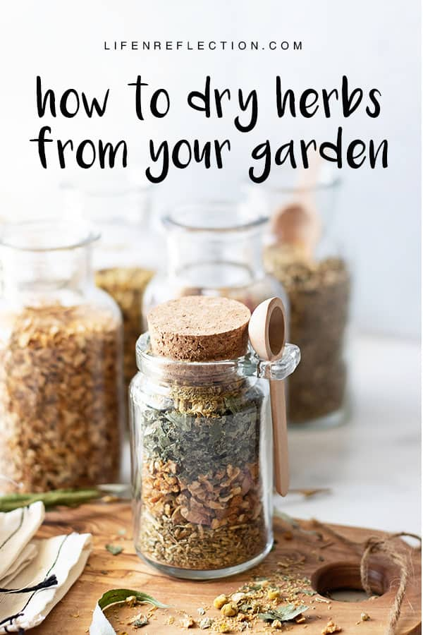 Ready to harvest your herb garden? Use these practical methods to dry herbs and tips on how to store herbs.