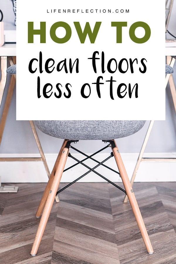 From one mom to another - 5 handy tips on how to clean floors less often.