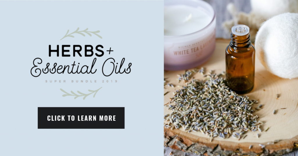 Everything you need to use herbs & essential oils in your home - in one comprehensive package. It's like a natural living library in itself!