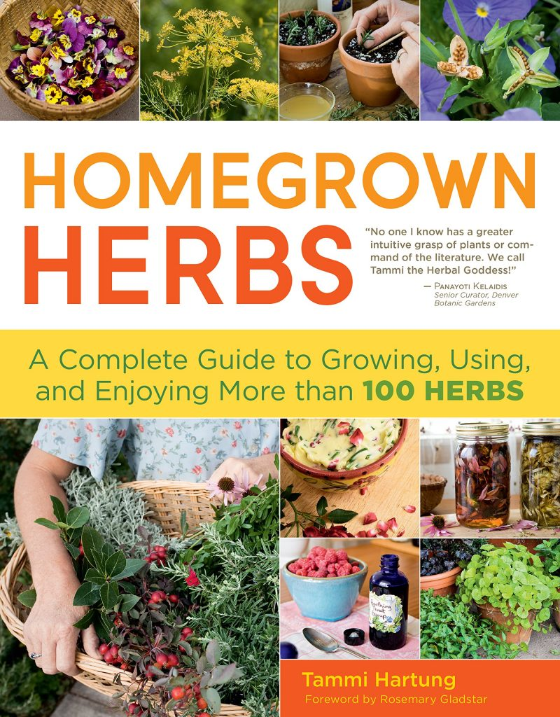 Whether you're a seasoned herbalist or planting your first garden, Homegrown Herbs will inspire you to get the most out of your herbs