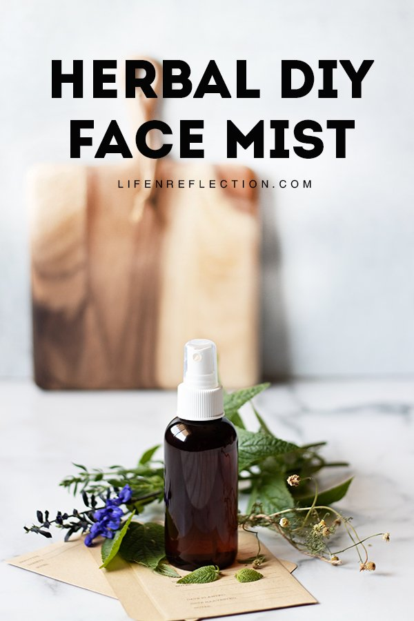 When your face needs a drink during the day, don't splash it with water or apply lotion. Instead, use a face mist - it's literally designed to give your skin a boost of hydration without messing up your appearance.  Learn how to make your own!