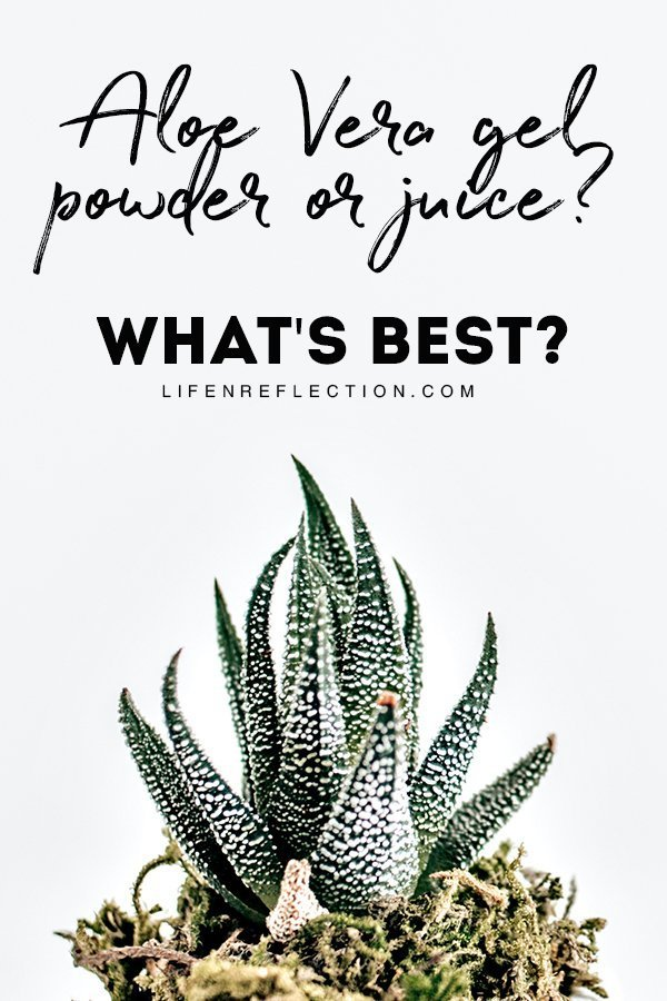 What's the Best Aloe Vera to Use? From gels to juice to powder, aloe vera comes in many forms these days. So which is the best to use?