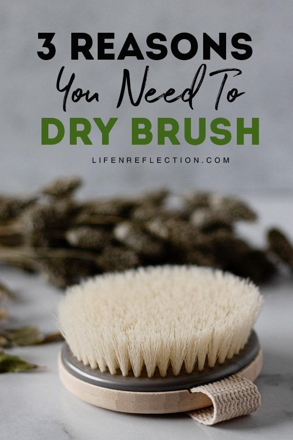 The simple act of dry brushing your skin for a few minutes a day or a few times a week benefits reach way beyond the surface of your skin. Here's 3 reasons why you need to learn how to dry brush!