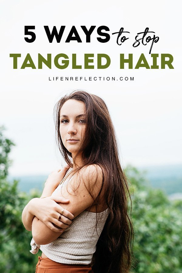 Use this step by step hair routine to avoid tangles and put an end to your frustration using the best detangler products and detangling tips!