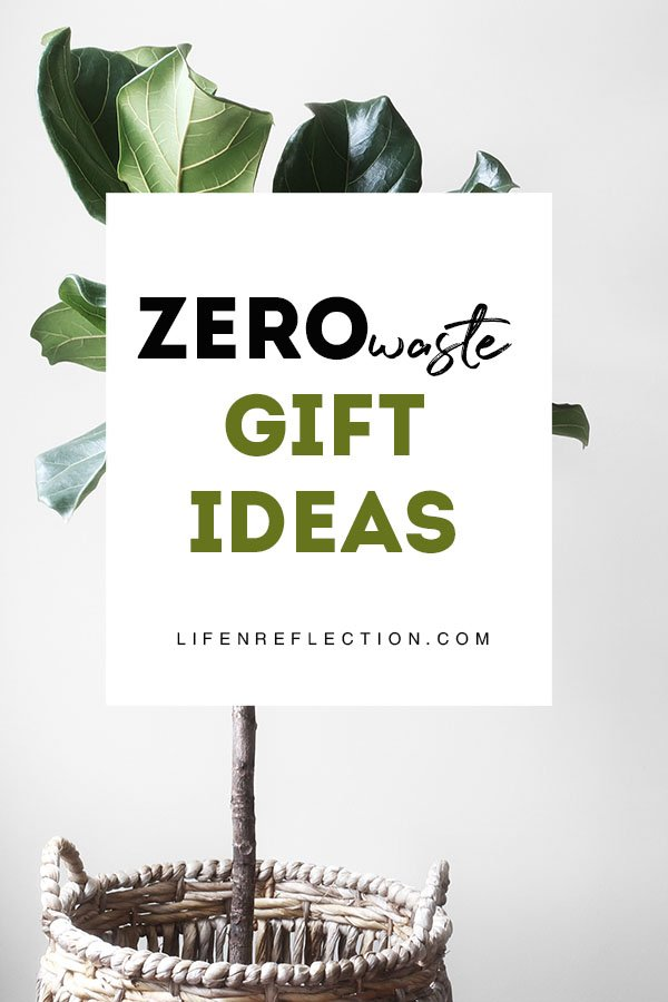 Zero Waste Gift Giving Ideas including eco friendly gifts for her, him, and everyone on your list - no matter the occasion!