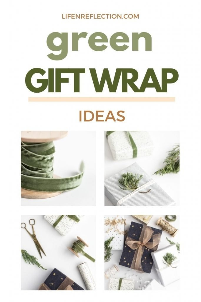 When it comes to gift wrapping think outside the box for zero waste gifts!
