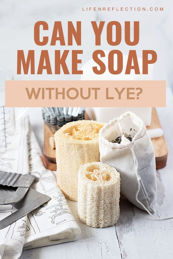 There is a much easier way to make soap without lye worries or expensive soap making supplies and equipment. Here's how!