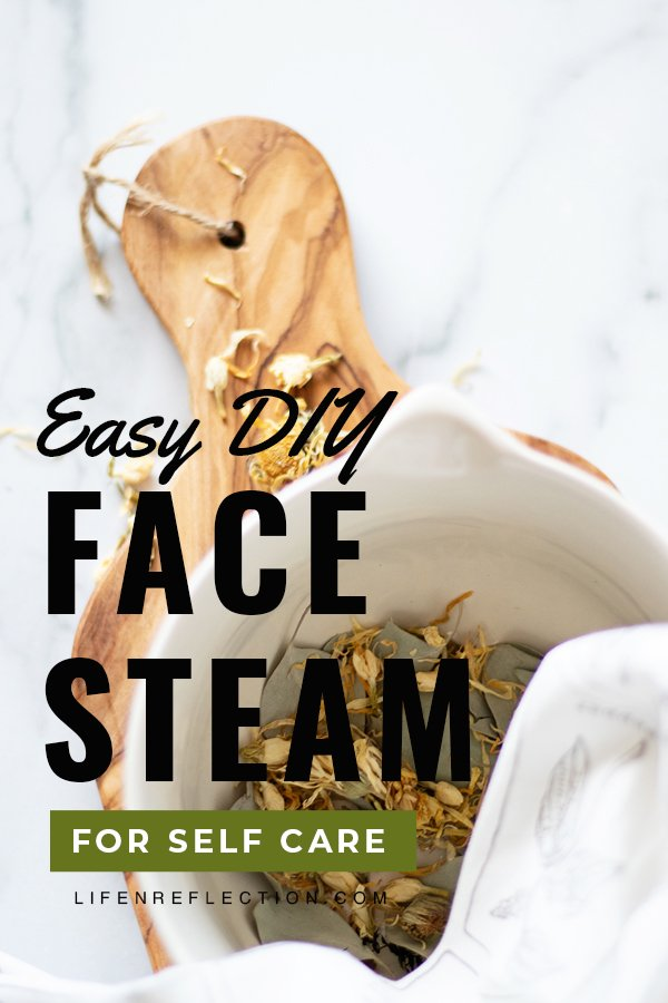 With just 15 minutes and a few ingredients you can create a spa-like experience in your own home with a DIY face steam.
