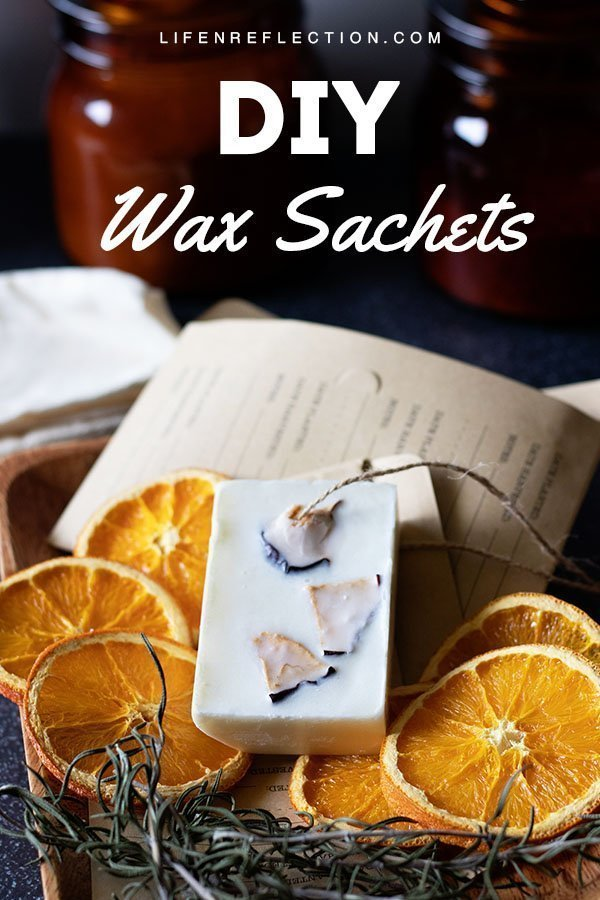 These zero waste air fresheners are really simple to make. All you need for this wax sachet recipe is soy wax, herbs, a few cinnamon sticks, and an orange. Here's how to make a DIY wax sachet!