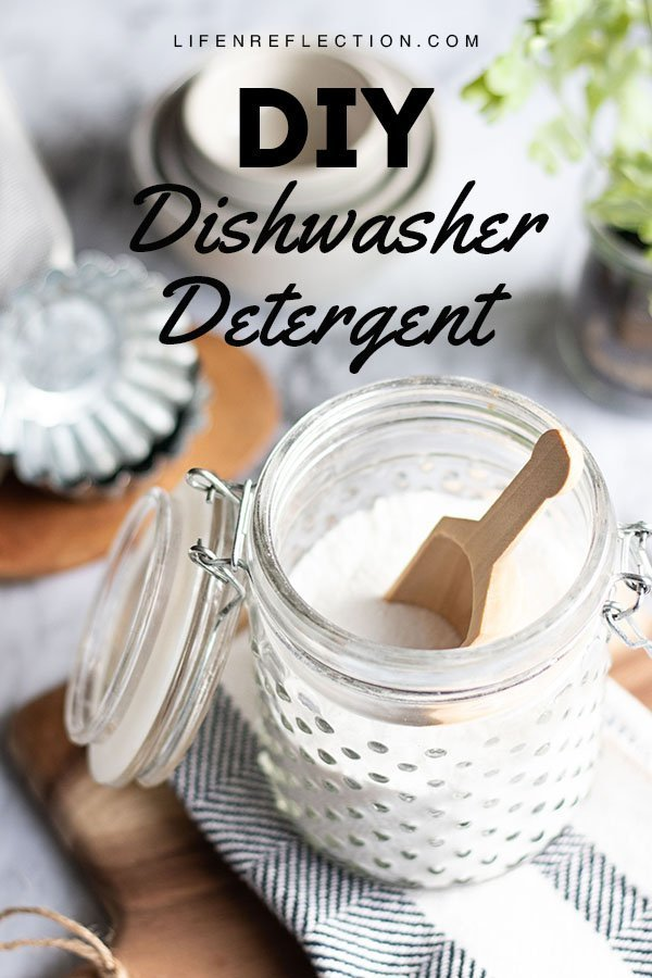If your tired of spending money on dishwasher detergents that don't work - then make one with this easy homemade dishwasher detergent recipe!