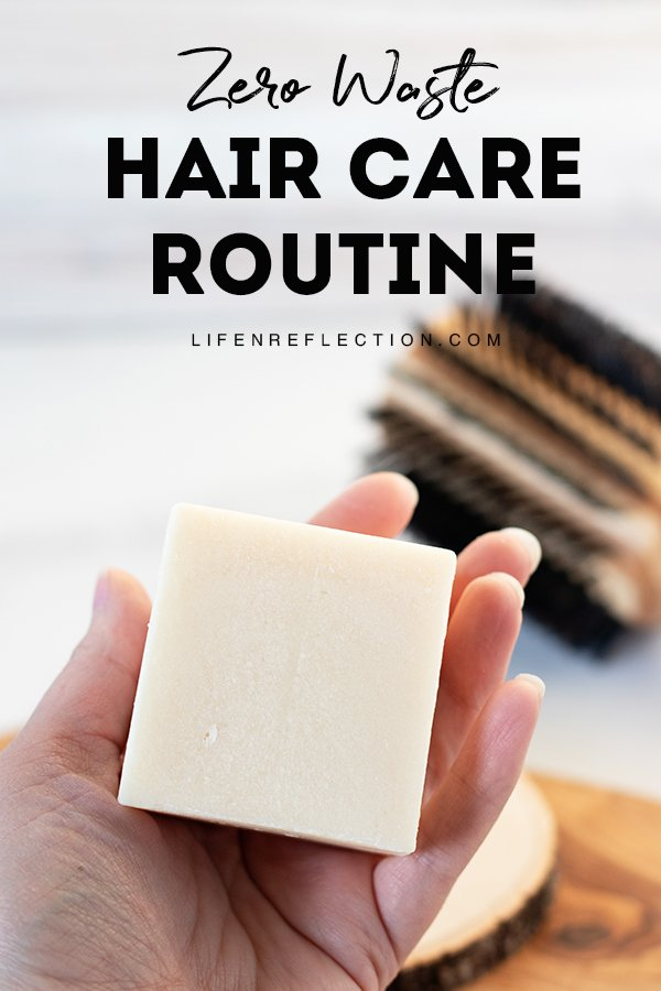 A great zero waste hair care routine starts with learning how to use a shampoo bar and conditioner. Use our step by step to get started!
