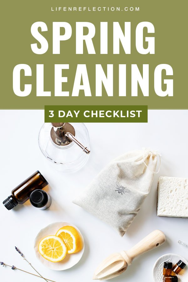 Use my 3 Day Plan to tackle it all with a spring cleaning printable checklist, tips, and tools!