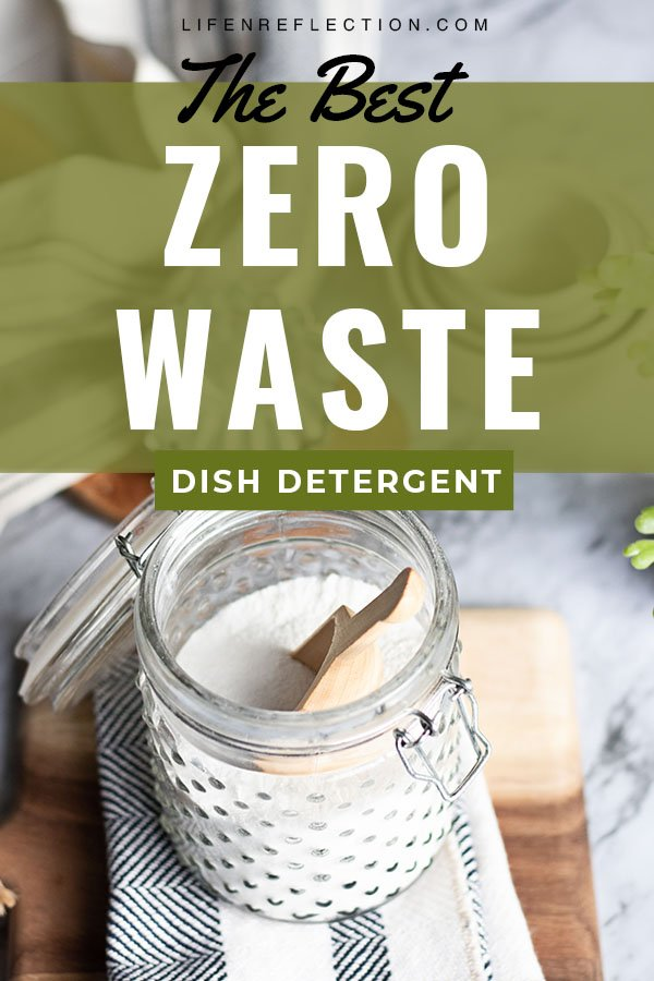 Can't find a dishwasher detergent that works? Have you tried a homemade dishwasher detergent? This recipe for a zero waste dishwasher detergent is made from simple, non-toxic ingredients that will keep your dishes clean and sparkly.