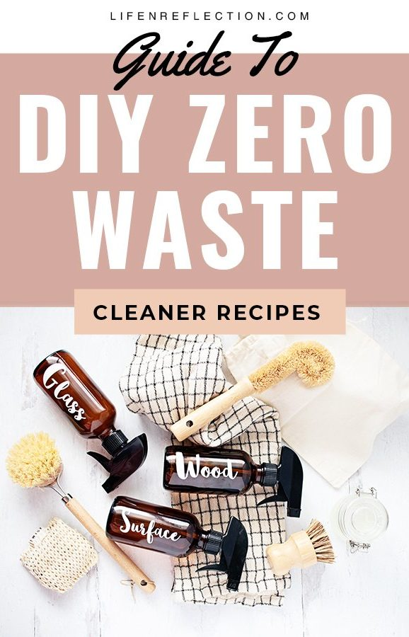Guide to Zero Waste DIY Cleaners for the Zero Waste Home