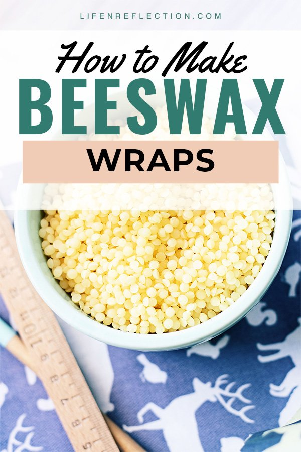 How to make beeswax wraps with jojoba oil for simple living.