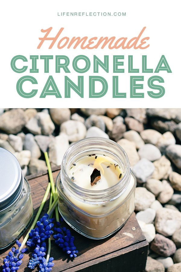 If you and your family are planning on spending lots of time outdoors this season, make these simple DIY citronella candles to keep your backyard barbecues and outdoor play mosquito-free!