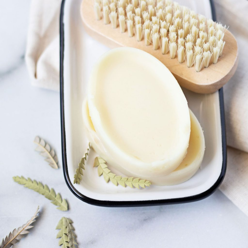 If your skin is dry and cracked rather it's your feet or hands - you've got to make this lavender lotion bar recipe. It's the ultimate dry skin lotion made with the perfect ratio of intense moisturizers!