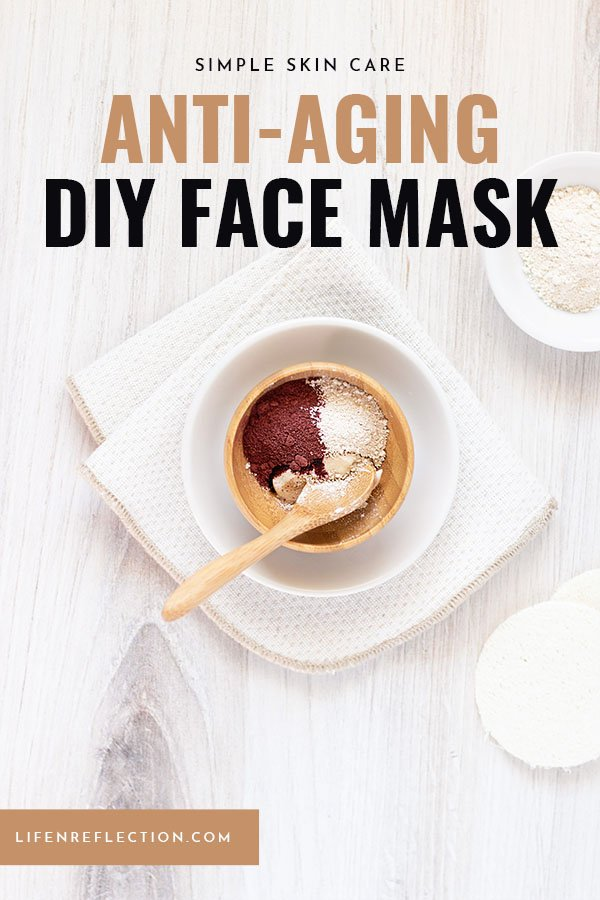 How do you make an anti-aging face mask?