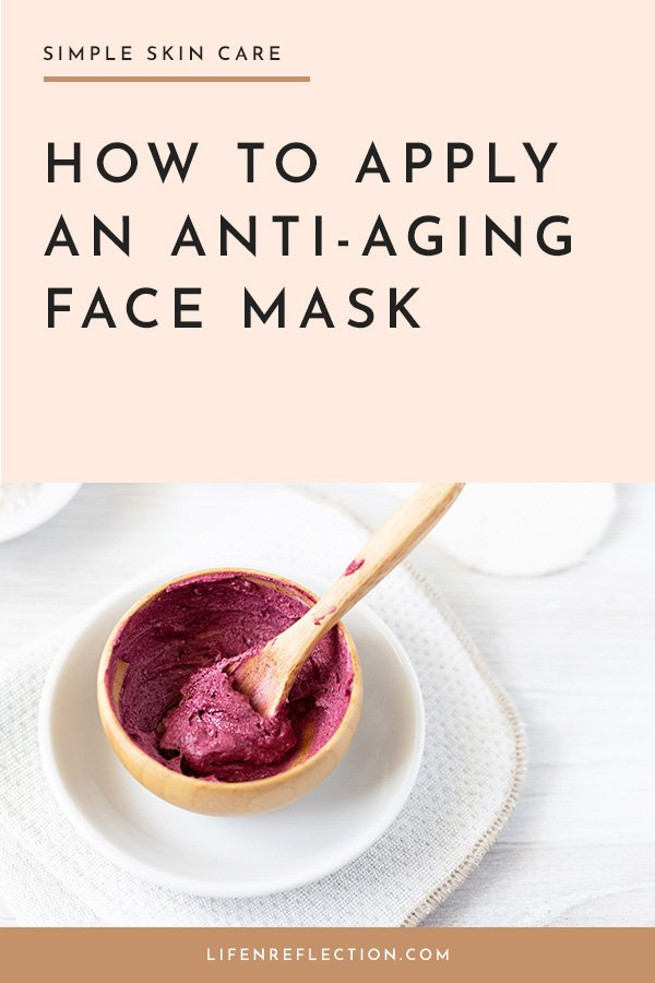 Get the most out of your homemade face mask by following these simple steps on how to apply a face mask the right way.