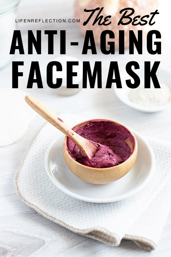 The best face mask for anti-aging softens fine lines and plumps up the skin diminishing the signs of aging. Here's how to make a homemade anti-aging face mask that works!