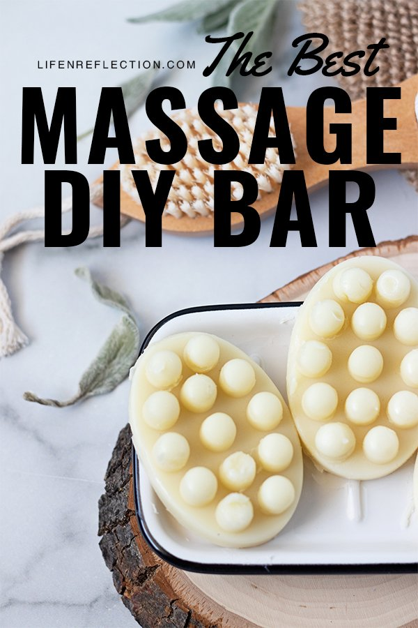 Trust me, this is the best DIY massage bar recipe. Made with only 4 ingredients!