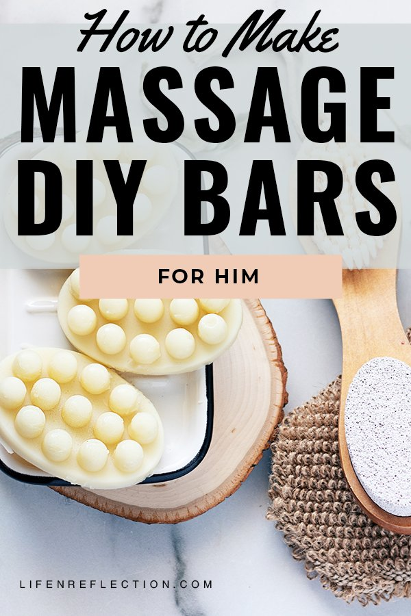 How to make a massage bar with just 4 ingredients to soothe sore muscles and tension.