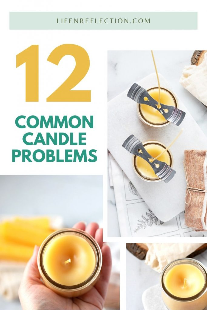 12 common candle making problems and how to fix each!