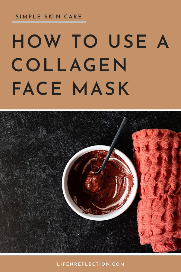 How to use a collagen face to boost collagen production naturally.
