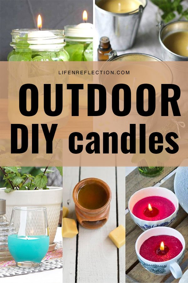 If you are eager to spend more time outdoors this year too without biting insects swarming around, turn to these excellent bug-repelling DIY outdoor candles made with effective essential oils.
