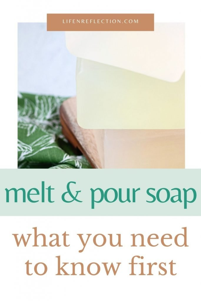 Find a detailed review of 10 melt and pour soap bases. Each is noted with their unique qualities, lather rating, and more. And I've even put together printables for every soap base type!!