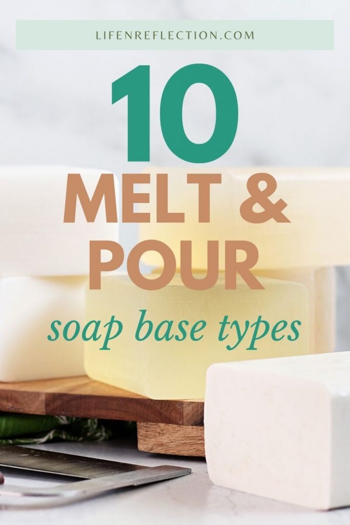 The sky's the limit when it comes to the creative aspects of making soap at home when you choose a melt and pour soap base!