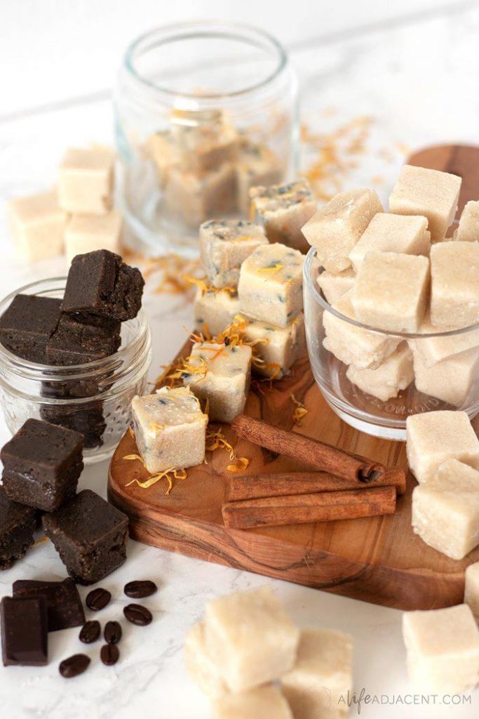 Turn skincare into self care with three fall-inspired DIY sugar scrub cubes