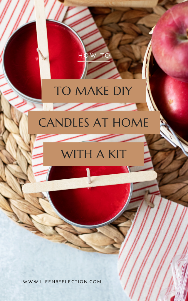 Whether this is your first time making candles or you're a pro, candle making kits make seasonal crafts so easy!