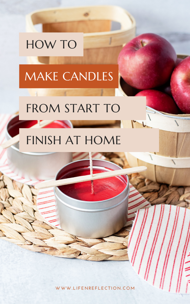 I adore autumn days and pretty much everything about the season. With this all-in-one candle making kit, I'll show how to make easy apple cider candles tins from start to finish!!