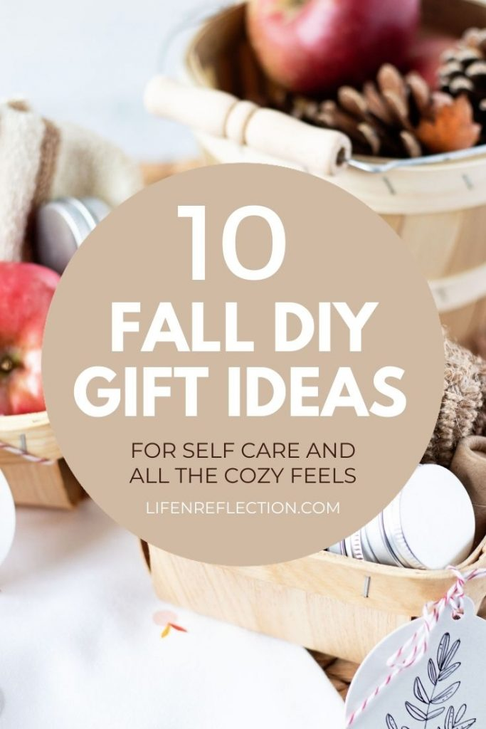 Fall is the perfect time to start or renew a self-care routine. And I've got several creative fall gift basket ideas for self-care to help you do just that!