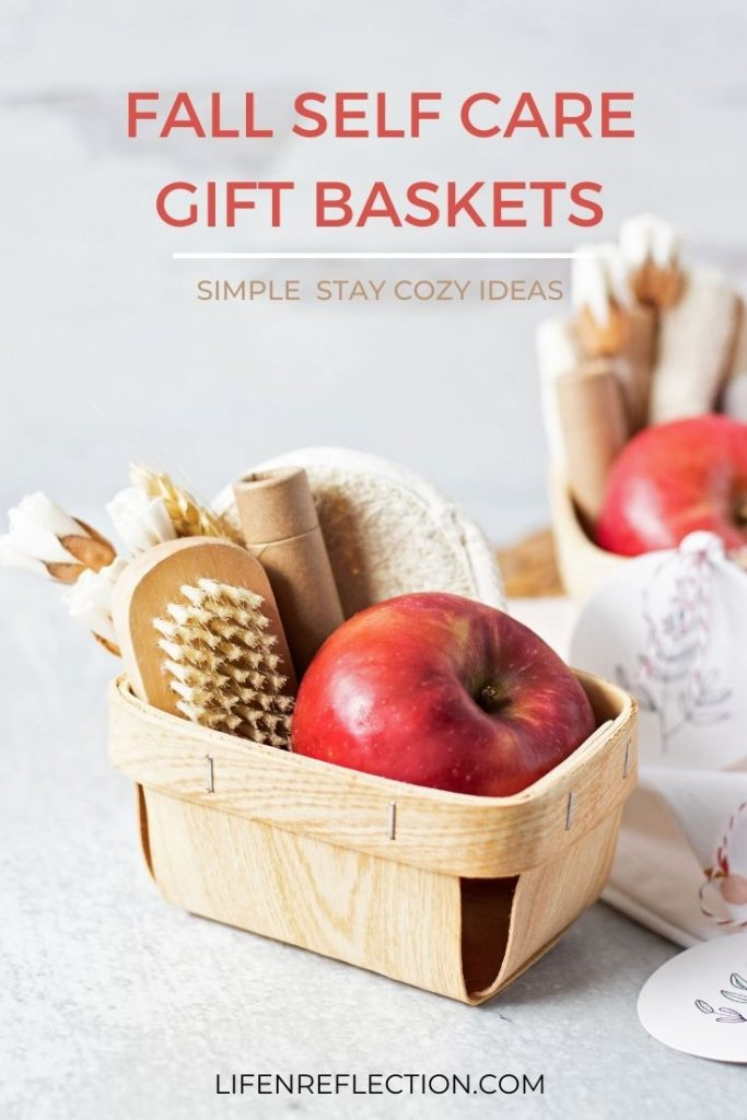 If you're feeling overwhelmed and ready to start a self-care practice I've got 10 fall gift basket ideas for the cozy season!