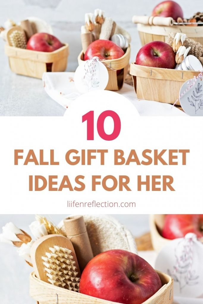 Creating self care fall gift basket is a unique way to incorporate a self-care practice into your busy fall schedule. Here's 10 DIY fall gift basket ideas!