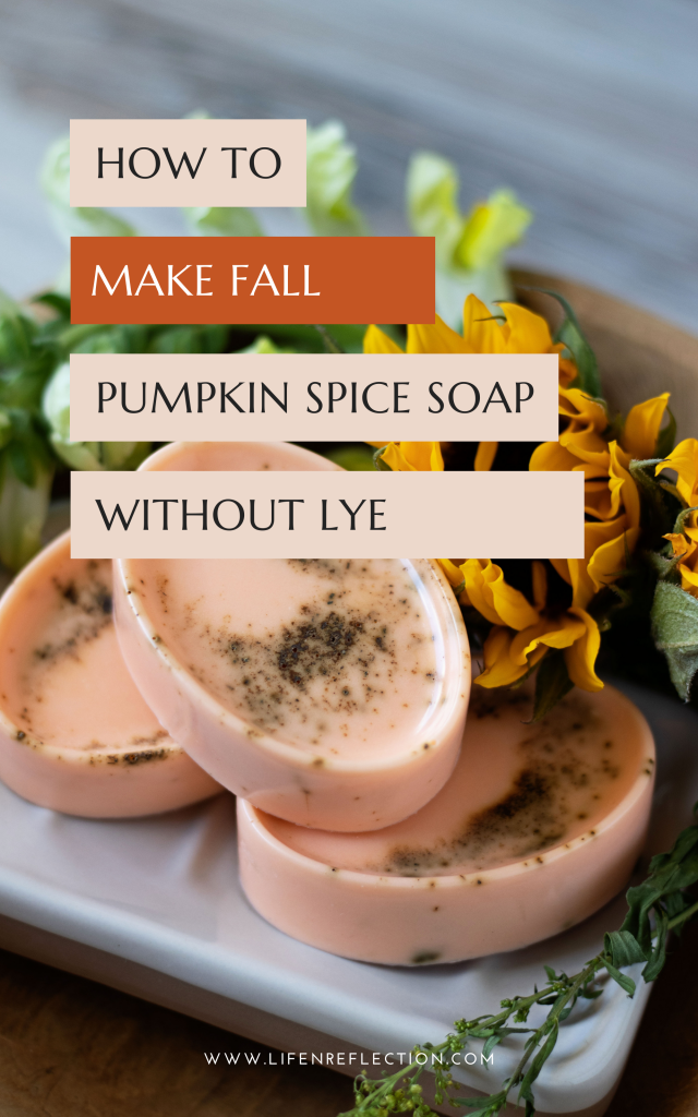 When the world turns everything pumpkin spice on September first lather up with this creamy, pumpkin spice soap recipe! Here's how to make it with melt and pour soap.